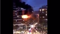 Explosion rocks Paris as fire blazes through set of flats