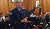 Police acting superintendent Mike McIlraith at the first select committee meeting addressing gun law reform. (Photo / NZME)