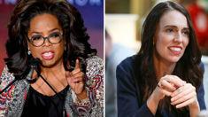 Oprah Winfrey praises Jacinda Ardern's leadership