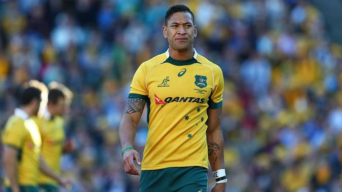 The comments come a few hours after Israel Folau broke his silence. (Photo / Getty)