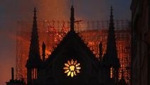 Notre Dame damaged in blaze but Paris vows to rebuild