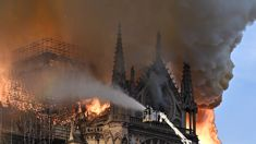 Notre Dame Cathedral inferno: Fear for historical artwork
