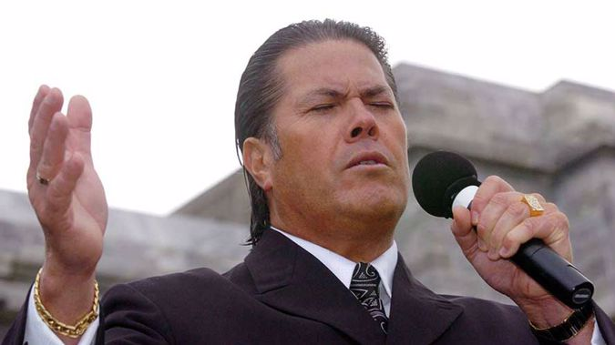 . Brian Tamaki is warning it will be war if passages from the Bible are deemed hate speech by this atheist government. Photo / Getty Images.