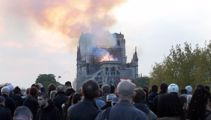 World reacts to destruction of Notre Dame