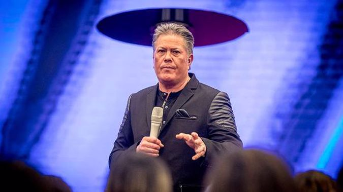 "Destiny Church leader Brian Tamaki has taken aim at Kiwis who believe parts of the Bible contain hate speech, saying ""this will be war"". (Photo / File)"