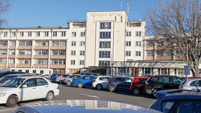 Hawke's Bay Hospital, Hastings.