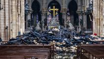 Macron: Notre Dame will be rebuilt 'even more beautifully'