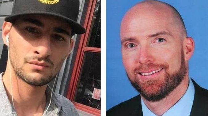 Joseph Esmaili (left) killed Otago-trained heart surgeon Patrick Pritzwald-Stegmann. Photos / Facebook, Supplied