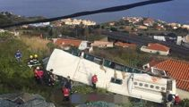 28 killed in bus crash on Portuguese island