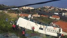 28 killed in bus crash on Portuguese island Madeira