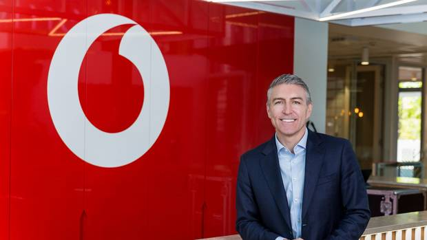 Chief executive Jason Paris says he'll update before the end of this month on Vodafone's restructure. Photo / supplied