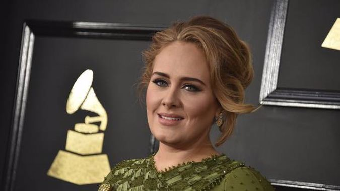 Adele confirmed her marriage at the 2017 Grammy Awards when she thanked her husband during an acceptance speech. Photo / AP