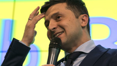 Comedian predicted to win Ukrainian election