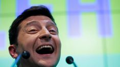 From sitcom to top seat: Comedian lands new role as Ukraine president