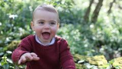 The Duke and Duchess of Cambridge are delighted to share three new photographs of Prince Louis ahead of his first birthday. Photo / Twitter, Duchess of Cambrige