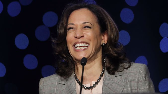 Harris is the second Democratic candidate made the call at a CNN event. (Photo / AP)