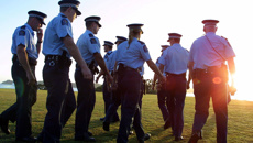 Will the Government meet its target of 1800 new police officers in three years?
