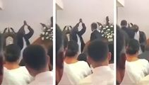 Shock after screaming man storms into Auckland church