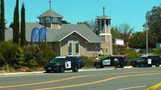 Four injured in synagogue shooting in California