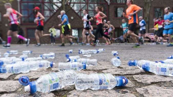 The move hopes to reduce the amount of plastic water bottles handed out at the event. (Photo / Getty)