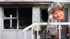 Linda Edwards (inset) was found dead inside a Mt Roskill home which had been torched. (Photo / Nick Reed)