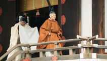 Japan's Emperor Akihito abdicates the throne