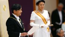 Japan's Emperor Naruhito officially succeeds his father