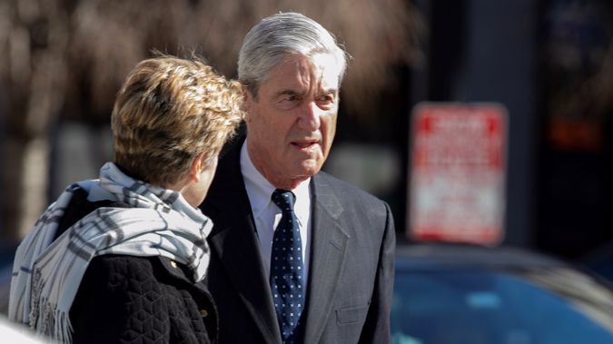 Robert Mueller made it clear to William Barr he was not pleased with how his report was publicised. (Photo / Getty)
