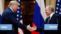 Trump, Putin discuss 'Russian hoax' in lengthy phone call