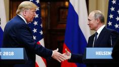 Donald Trump and Vladimir Putin have hour-long phone call