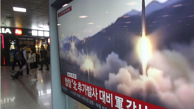 Details of the launch are being analysed by military authorities. (Photo / Getty)