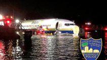 Commercial plane crashes into Florida river