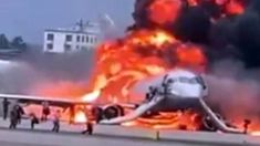 Horrific plane fireball kills 41 including at least two children