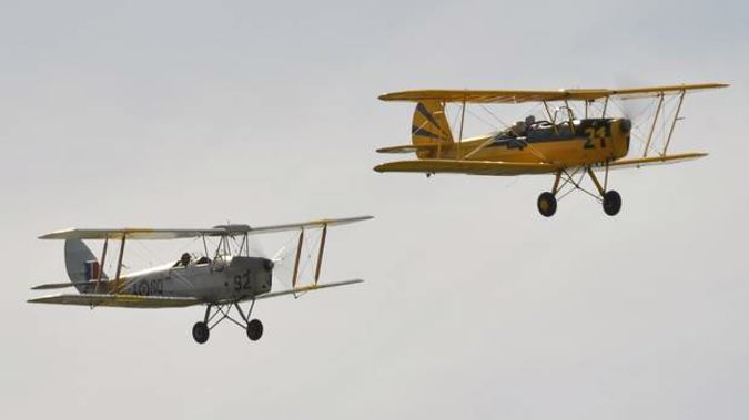 Vintage Aviator manufactures reproductions of First World War-era aircraft. (Photo / Herald)