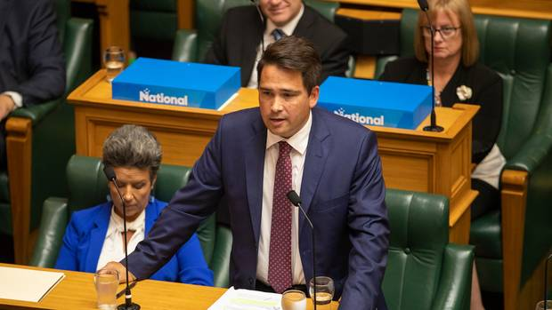 """National Party leader Simon Bridges called Brian Anderton an """"emotional junior staffer"""" despite Anderton having reportedly worked for the party for six years. (Photo / Mark Mitchell)"""