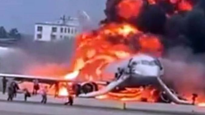 The explosion of a Russian plane yesterday is the latest tragedy this year. (Photo / AP)