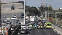 Witnesses reveal details after man fell from van on Auckland motorway