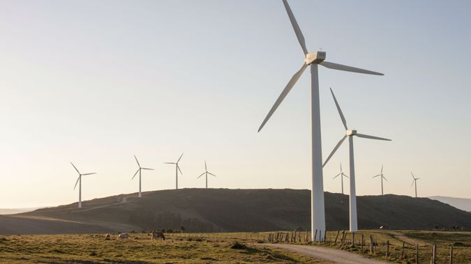 Wind and solar power made up the difference. (Photo / AP)
