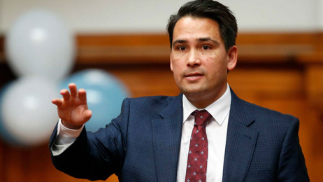 Simon Bridges defends his slushy machine stance