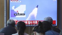 N. Korea fires two suspected missiles in possible new warning
