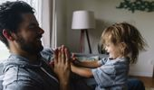 Stay-at-home dads can push kids to take more risks, research shows. (Photo / Getty)
