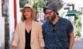 Charlize Theron and Seth Rogen star in The Long Shot. (Photo / Supplied)