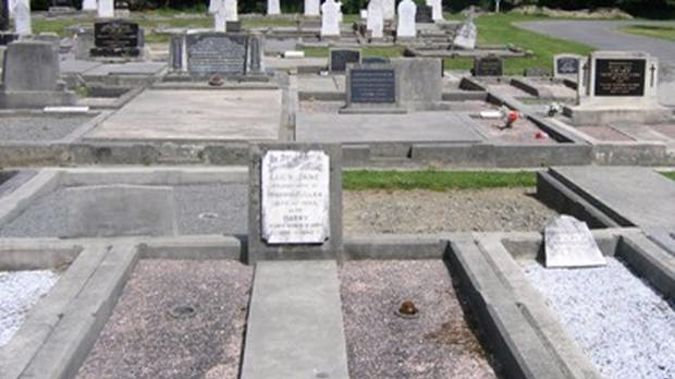 The plaques were stolen from the Springston cemetery in Canterbury. (Photo / Supplied)