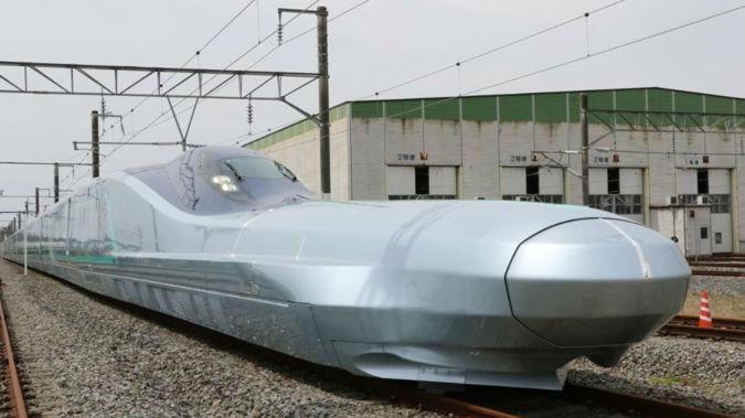 The ALFA-X version of the Shinkansen train. (Photo / East Japan Railway Company via CNN)