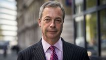'I'm back to finish the job': Farage's party polling at 34 per cent ahead of election