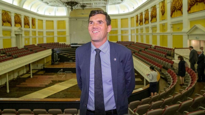 Wellington mayor Justin Lester. (Photo / File)