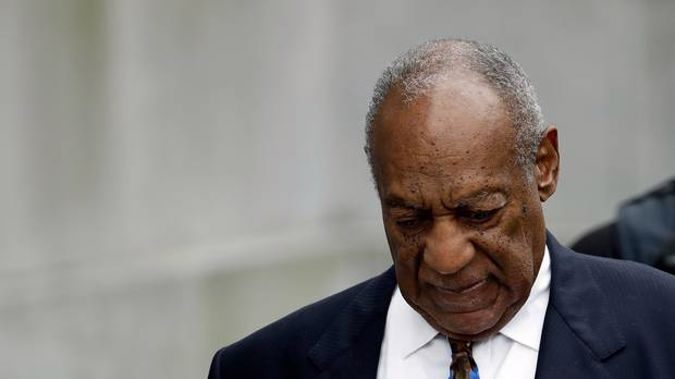 Bill Cosby pictured at the Montgomery County Courthouse. (Photo / AP)