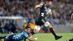 Ardie Savea had another monster performance against the Blues last Friday. (Photo / Getty)