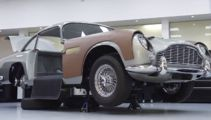 James Bond car complete with gadgets goes on sale