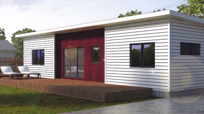 Compact homes are sold through Bunnings Trade. (Photo / Clever Living Co.)